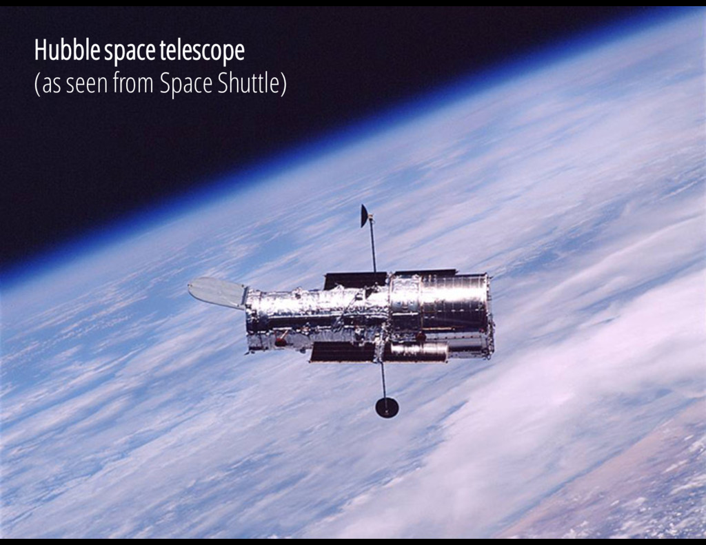 V = 13.3 mag Hubble space telescope (as seen fr...