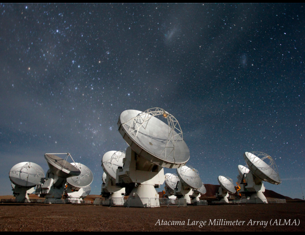 V = 13.3 mag Atacama Large Millimeter Array (AL...
