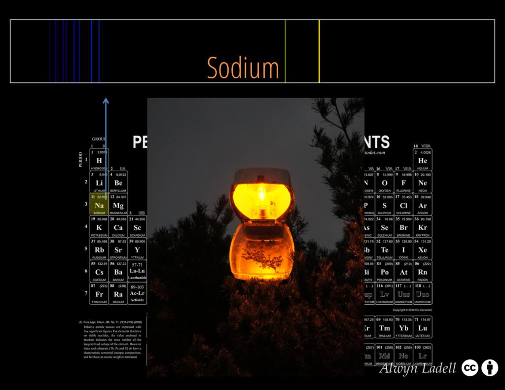 Sodium Alwyn Ladell