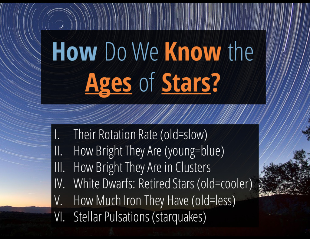 How Do We Know the Ages of Stars? I. Their Rota...
