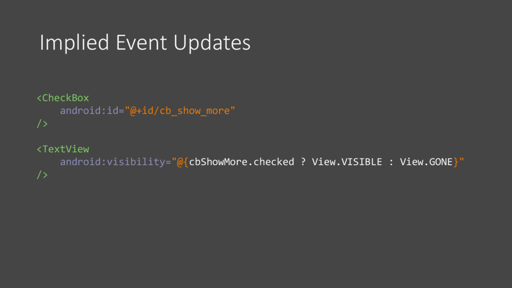 """Implied Event Updates <CheckBox android:id=""""@+i..."""