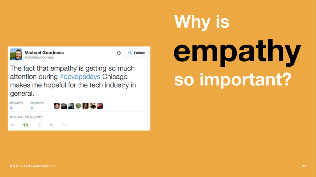 Why is empathy so important? @jasonhand | victo...