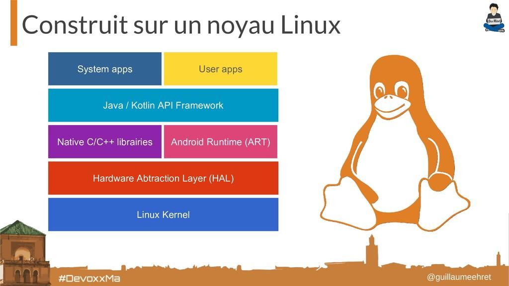 Construit sur un noyau Linux Linux Kernel Hardw...