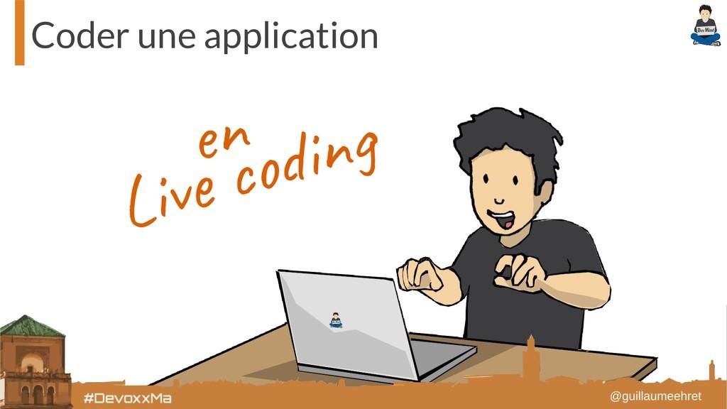 Coder une application Liv in en