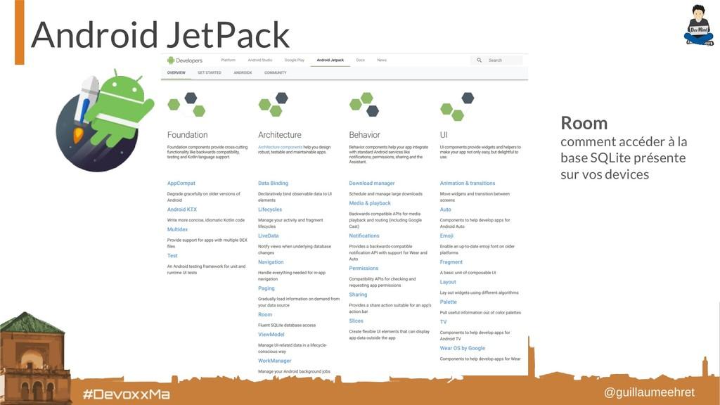 Android JetPack Room comment accéder à la base ...