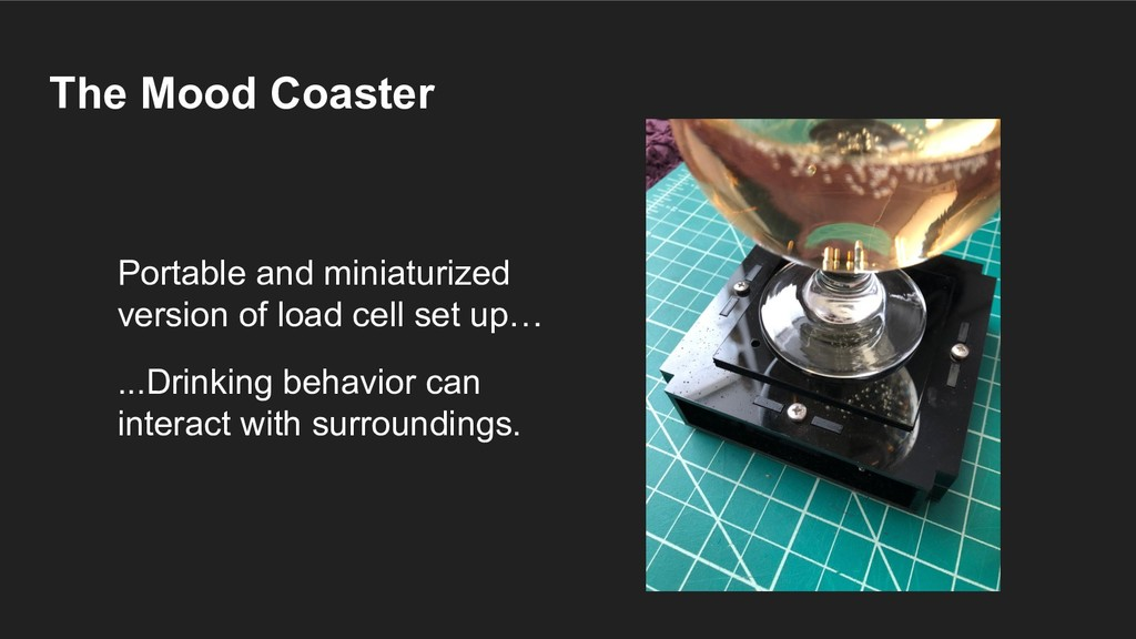 The Mood Coaster Portable and miniaturized vers...