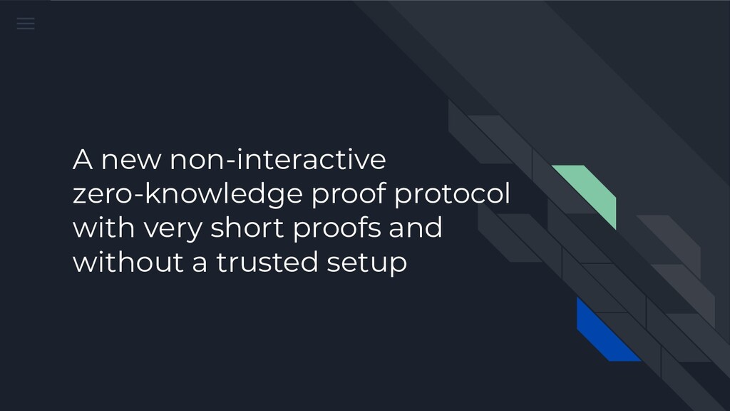 A new non-interactive zero-knowledge proof prot...