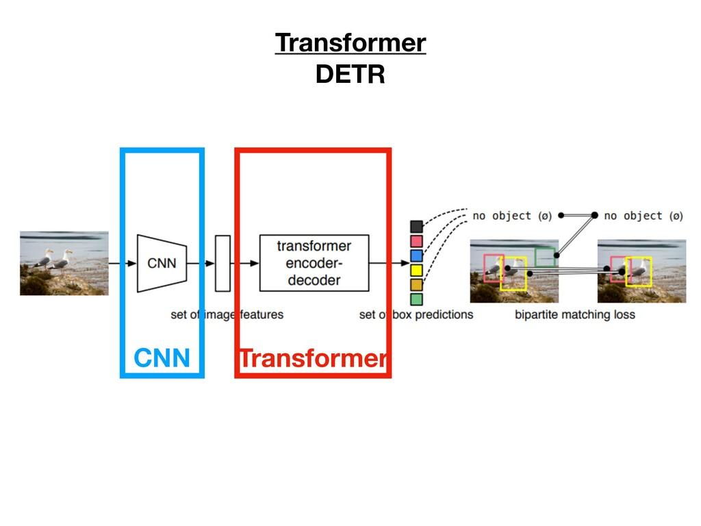 Transformer DETR CNN Transformer