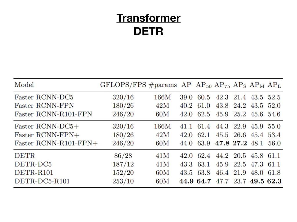 Transformer DETR