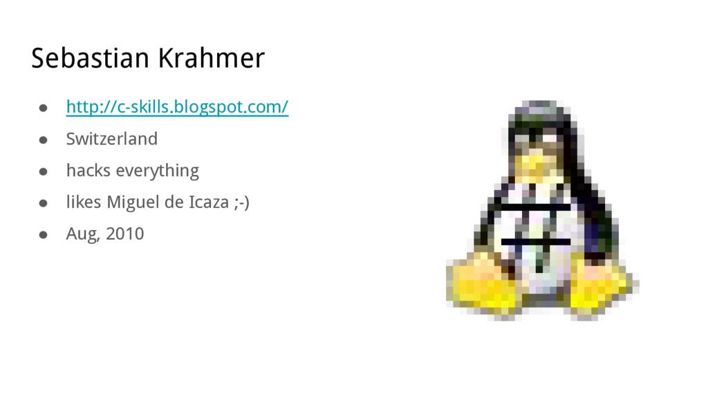 Sebastian Krahmer ● http://c-skills.blogspot.co...