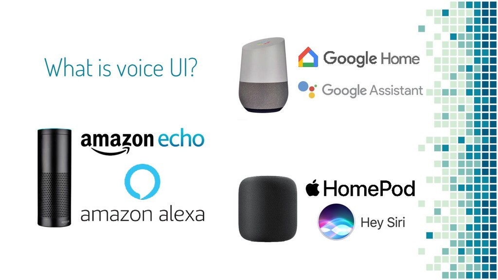 What is voice UI?