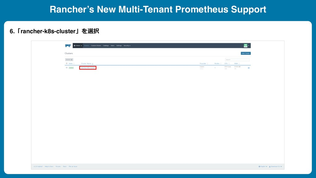 Rancher's New Multi-Tenant Prometheus Support 6...