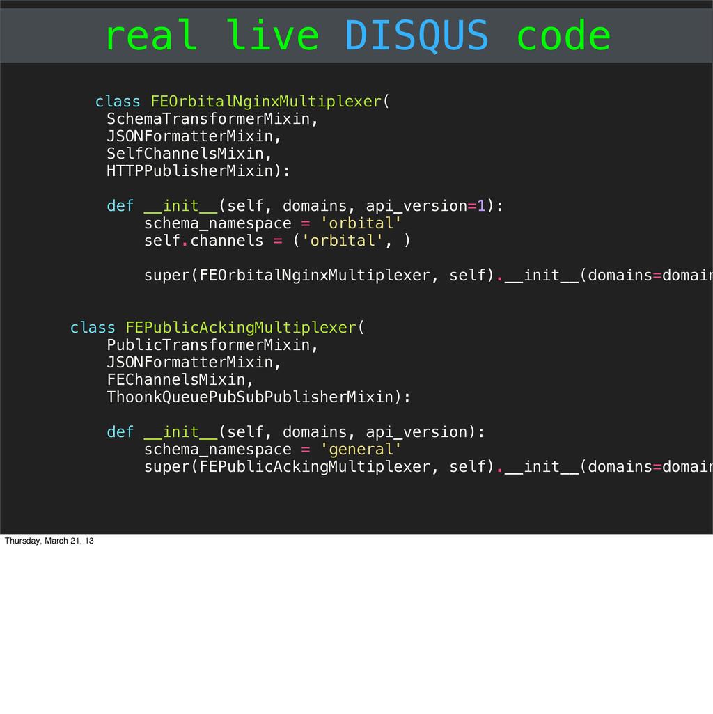 real live DISQUS code class FEOrbitalNginxMulti...