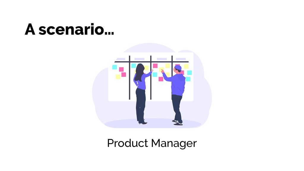 Product Manager A scenario…