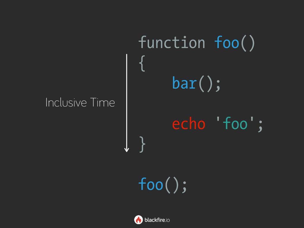 function foo() { bar(); echo 'foo'; } foo()...