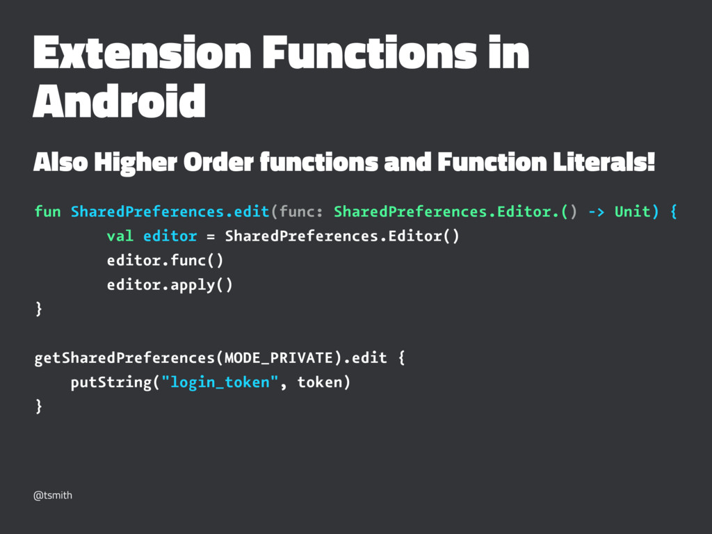 Extension Functions in Android Also Higher Orde...