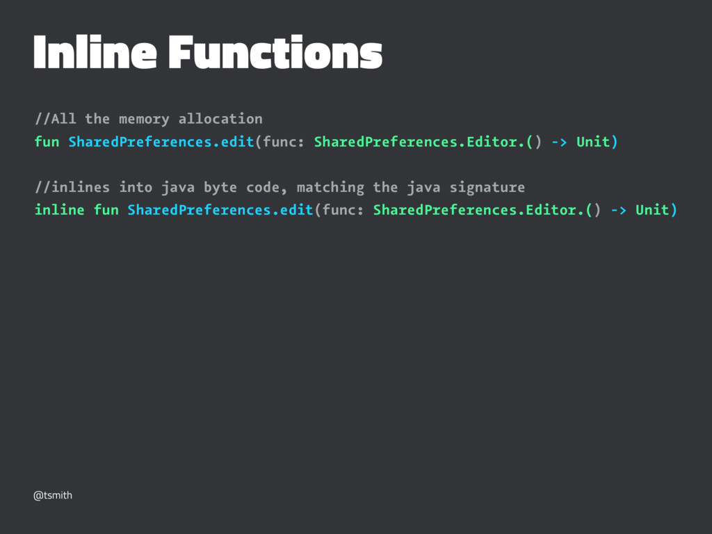 Inline Functions //All the memory allocation fu...