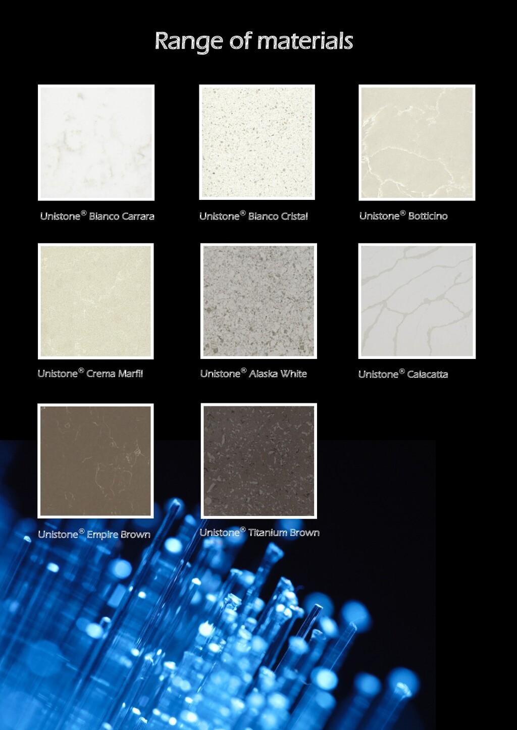 Unistone® Bianco Carrara Unistone® Bianco Crist...