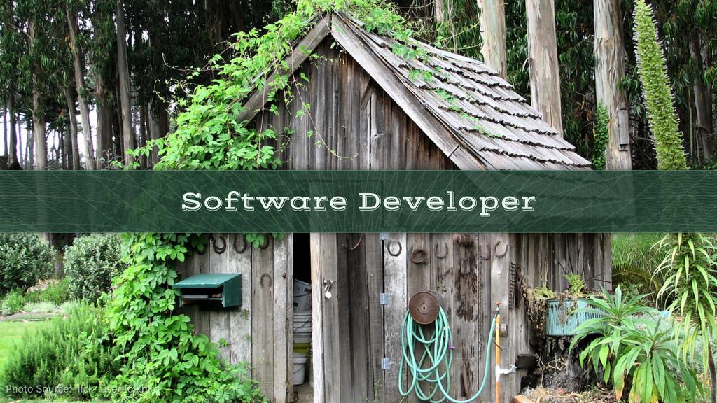 Software Developer Photo Source: flickr user fol...