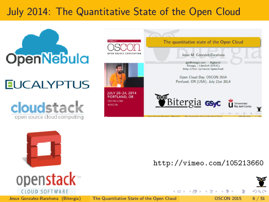 July 2014: The Quantitative State of the Open C...