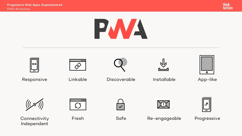 PWA Workshop Progressive Web Apps, Superpowered...