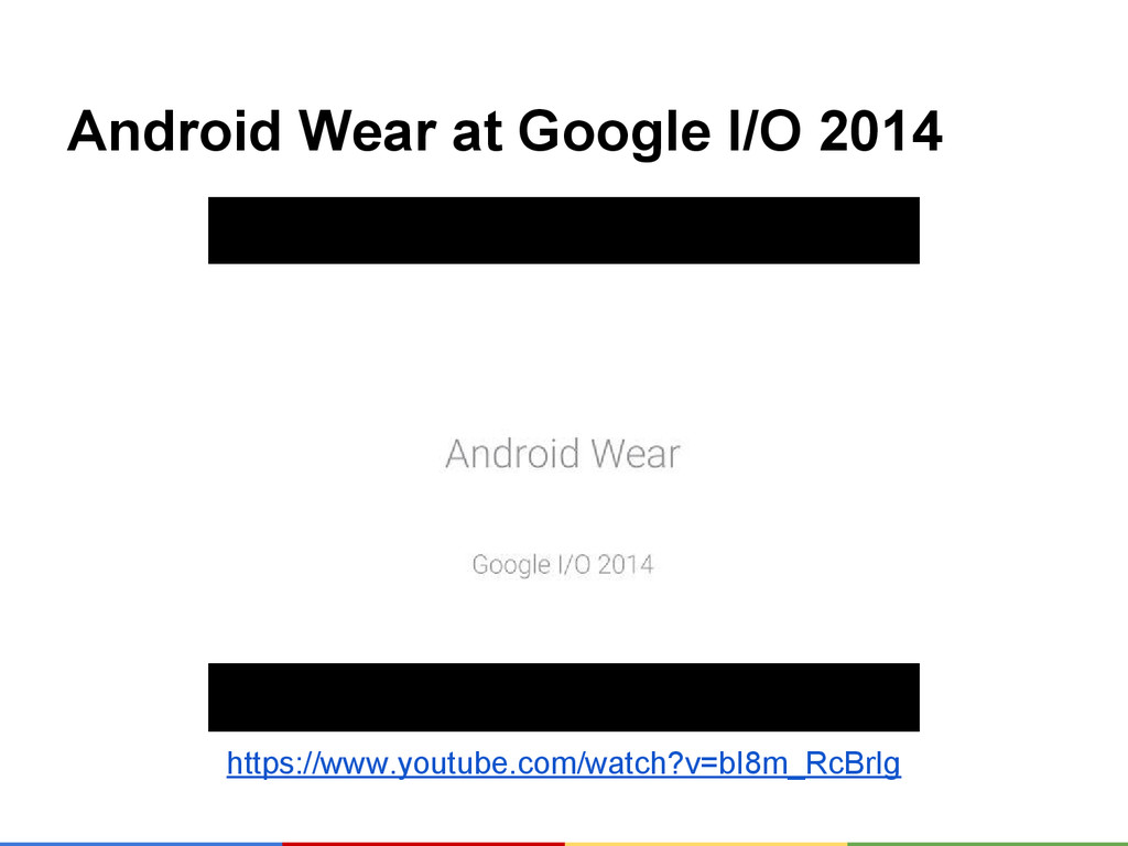 Android Wear at Google I/O 2014 https://www.you...