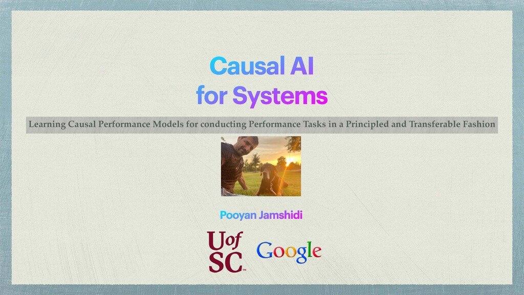 Causal AI   for Systems Learning Causal Perform...