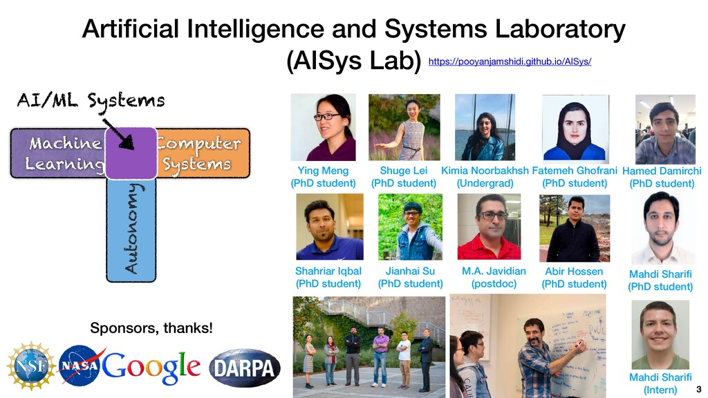 Arti fi cial Intelligence and Systems Laborator...