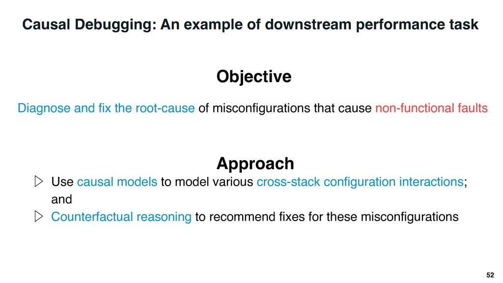 52 Diagnose and fix the root-cause of misconfig...