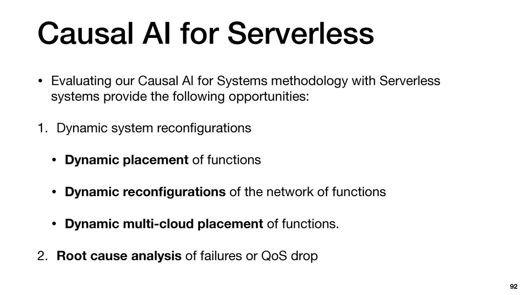Causal AI for Serverless • Evaluating our Causa...
