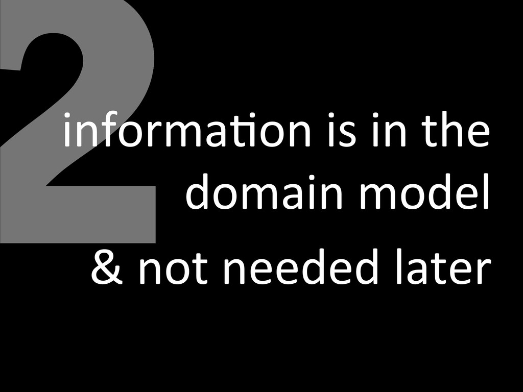 2 informa<on is in the  domain m...