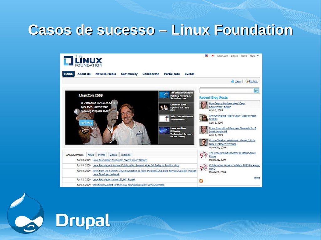 Casos de sucesso – Linux Foundation Casos de su...