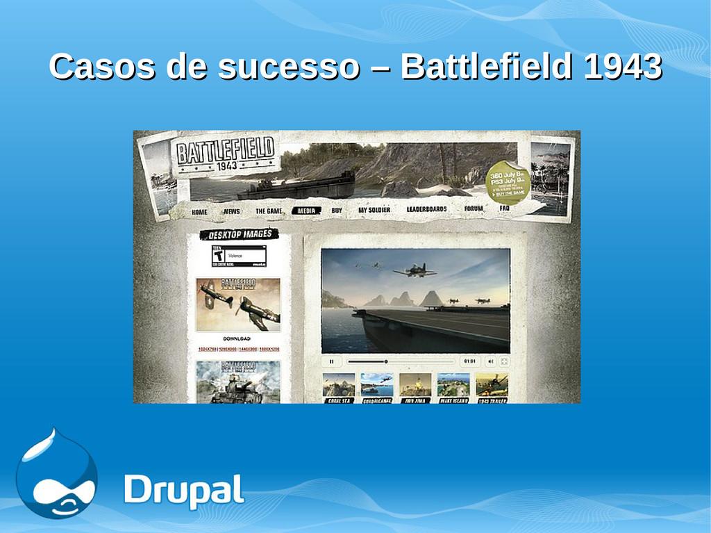 Casos de sucesso – Battlefield 1943 Casos de su...