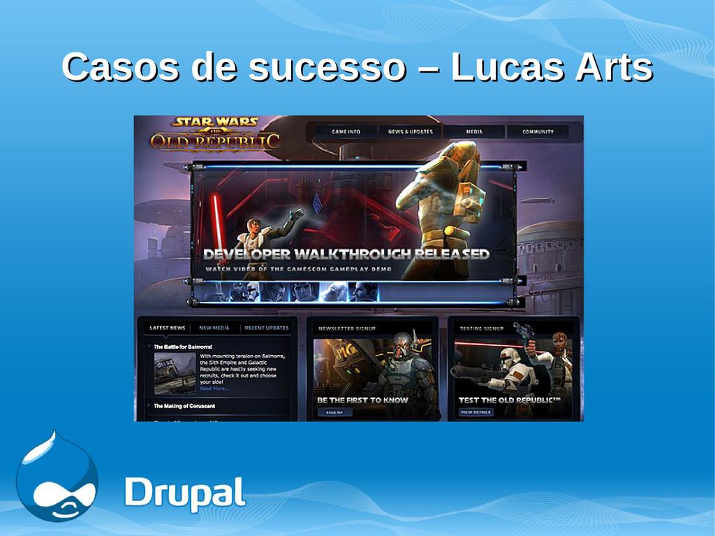 Casos de sucesso – Lucas Arts Casos de sucesso ...