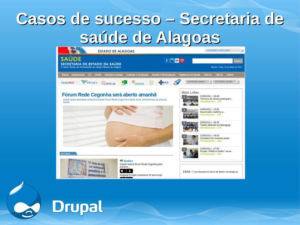 Casos de sucesso – Secretaria de Casos de suces...