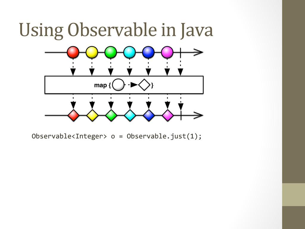 Using Observable in Java  Observabl...