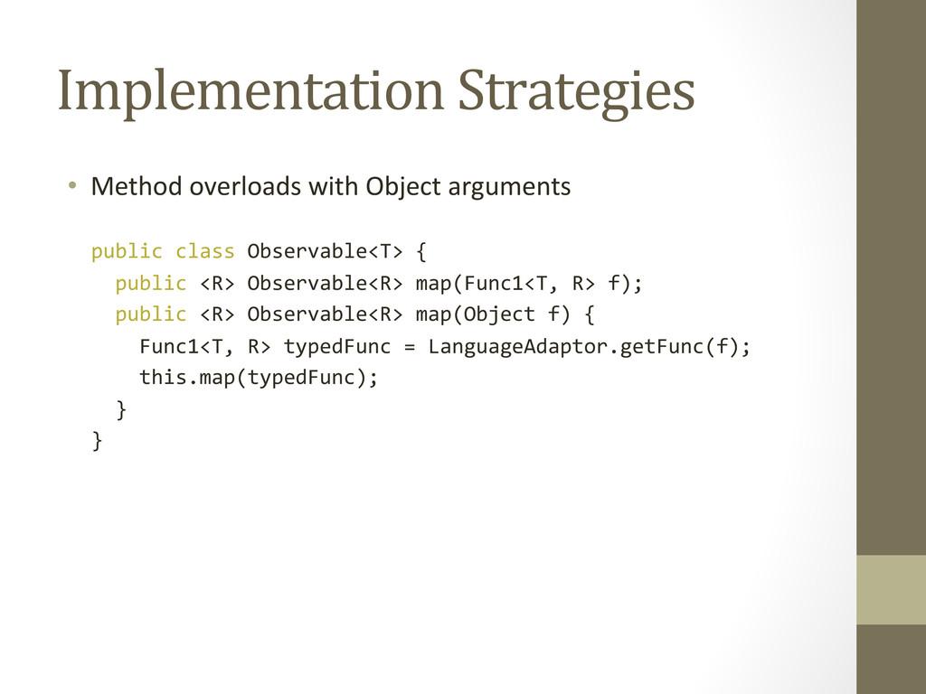 Implementation Strategies  • Method o...