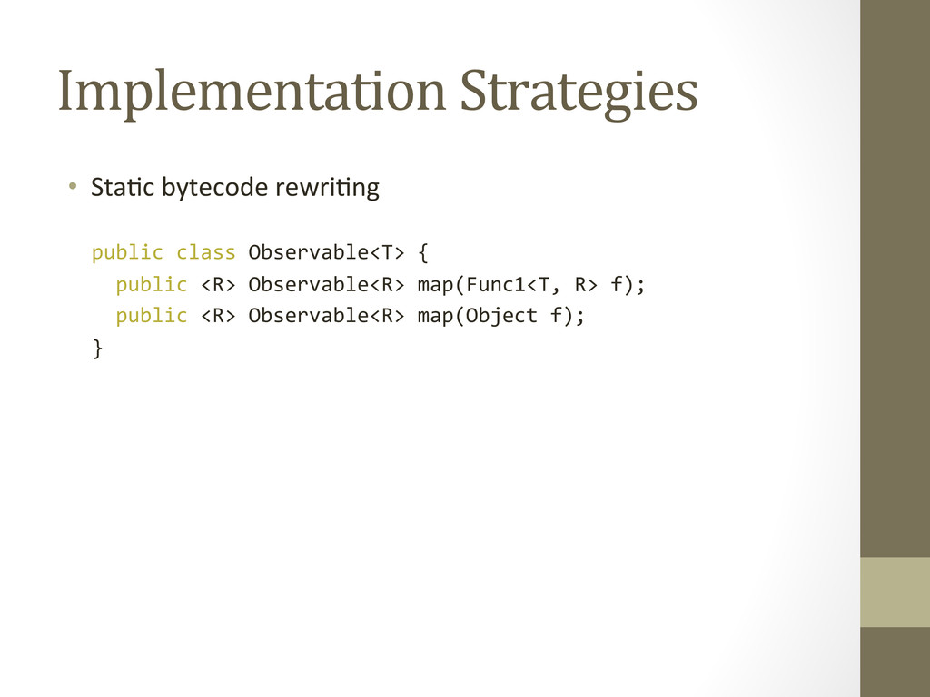 Implementation Strategies  • StaEc by...