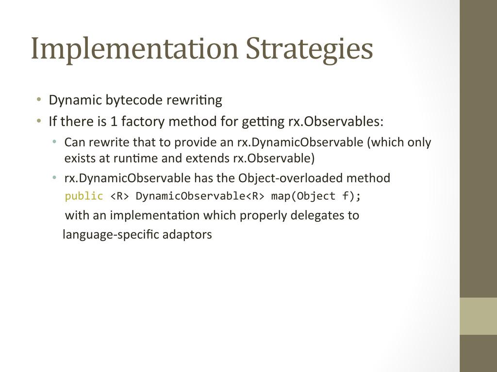 Implementation Strategies  • Dynamic ...