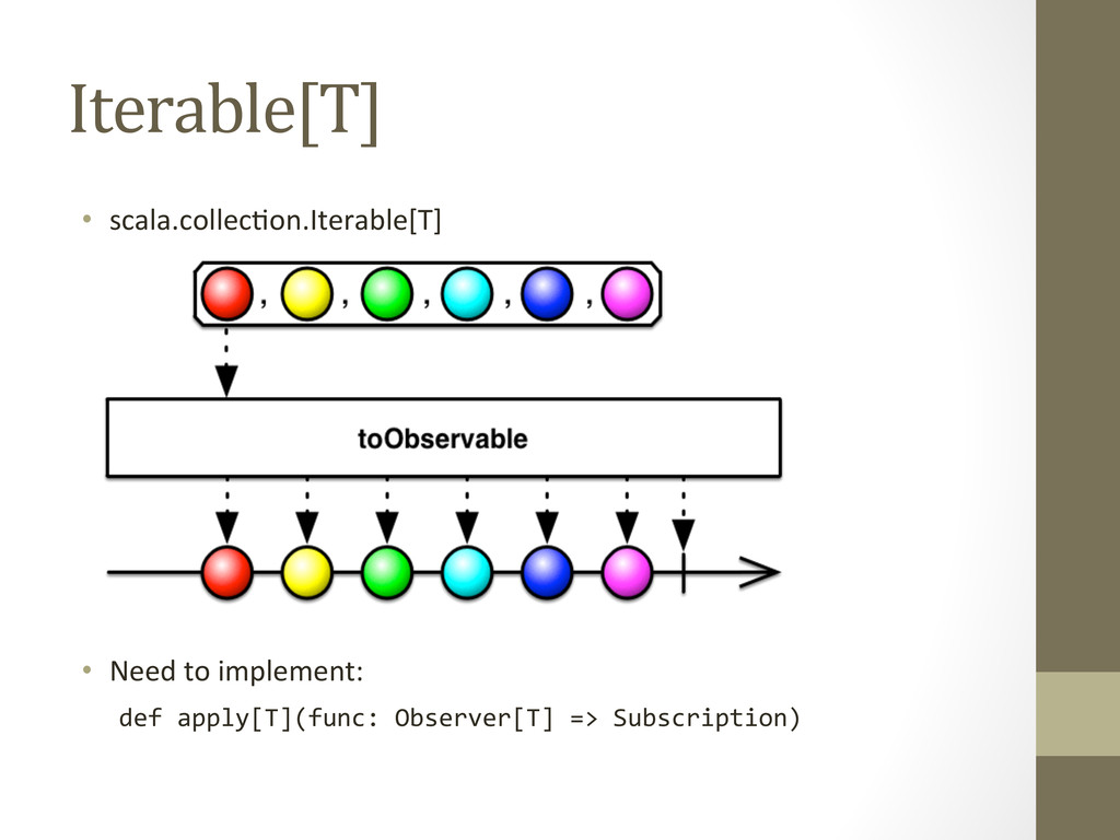 Iterable[T]  • scala.collecEon.Iterable[T]...