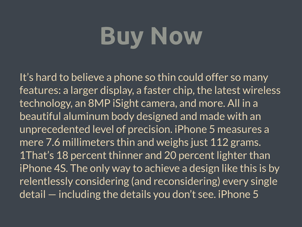 Buy Now It's hard to believe a phone so thin co...