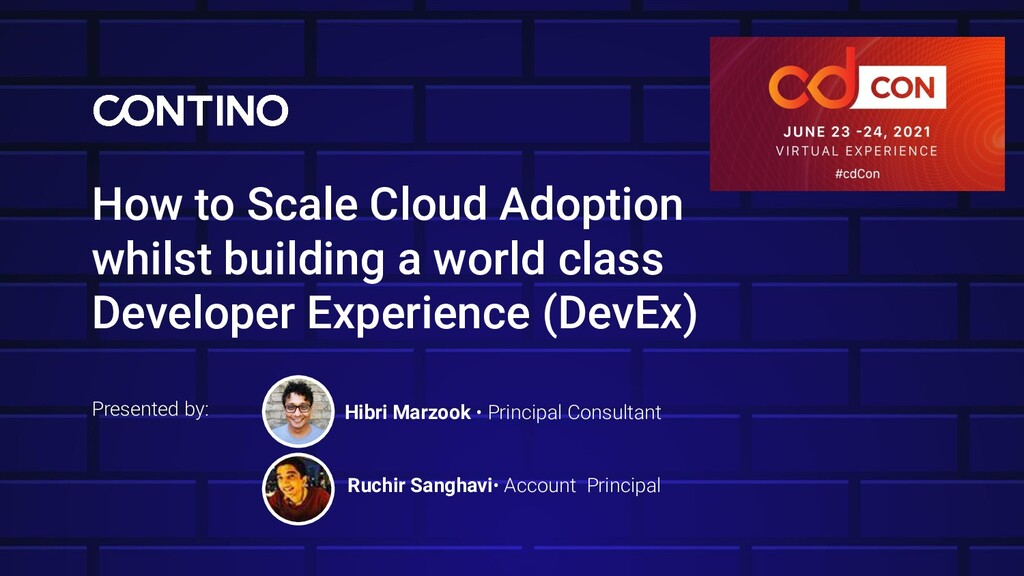 How to Scale Cloud Adoption whilst building a w...