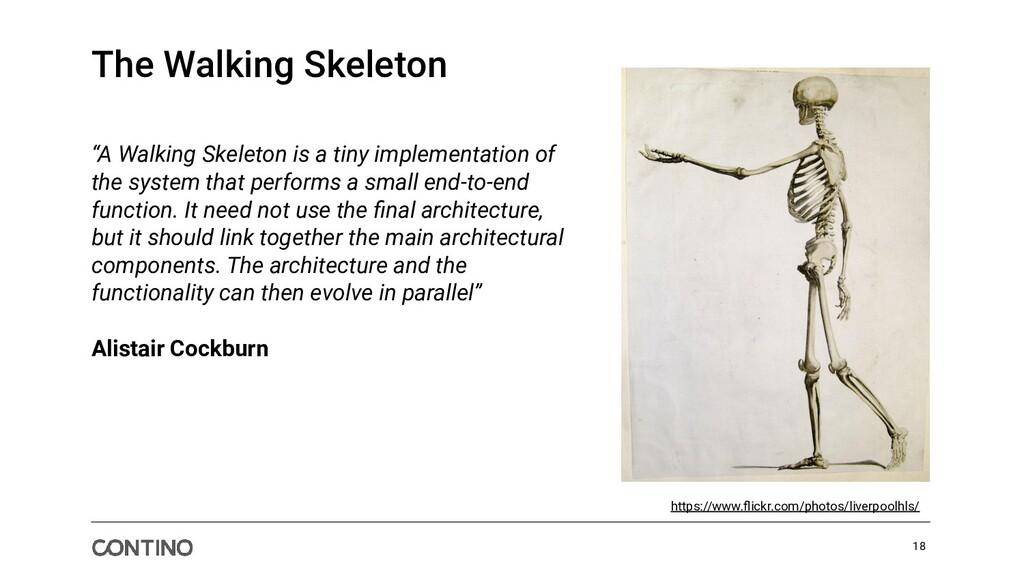 The Walking Skeleton https://www.flickr.com/phot...