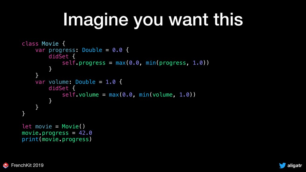 aligatr FrenchKit 2019 Imagine you want this cl...