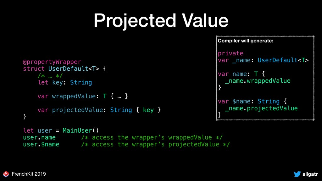 aligatr FrenchKit 2019 Projected Value @propert...