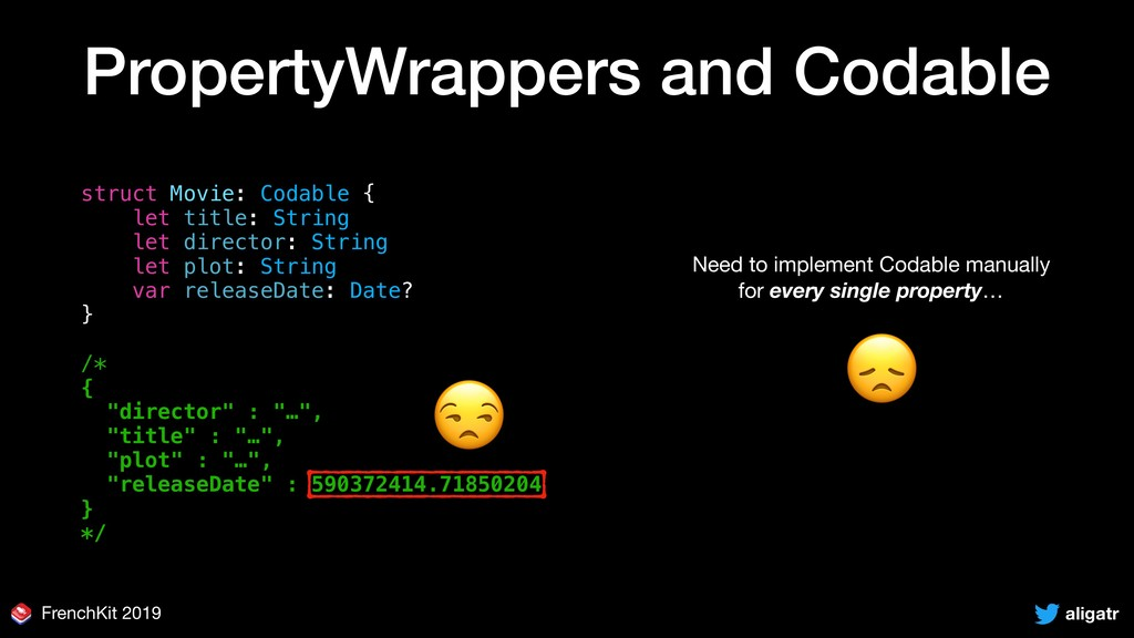 aligatr FrenchKit 2019 PropertyWrappers and Cod...