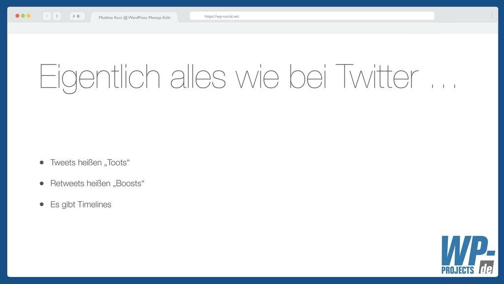 # Matthias Kurz @ WordPress Meetup Köln https:/...