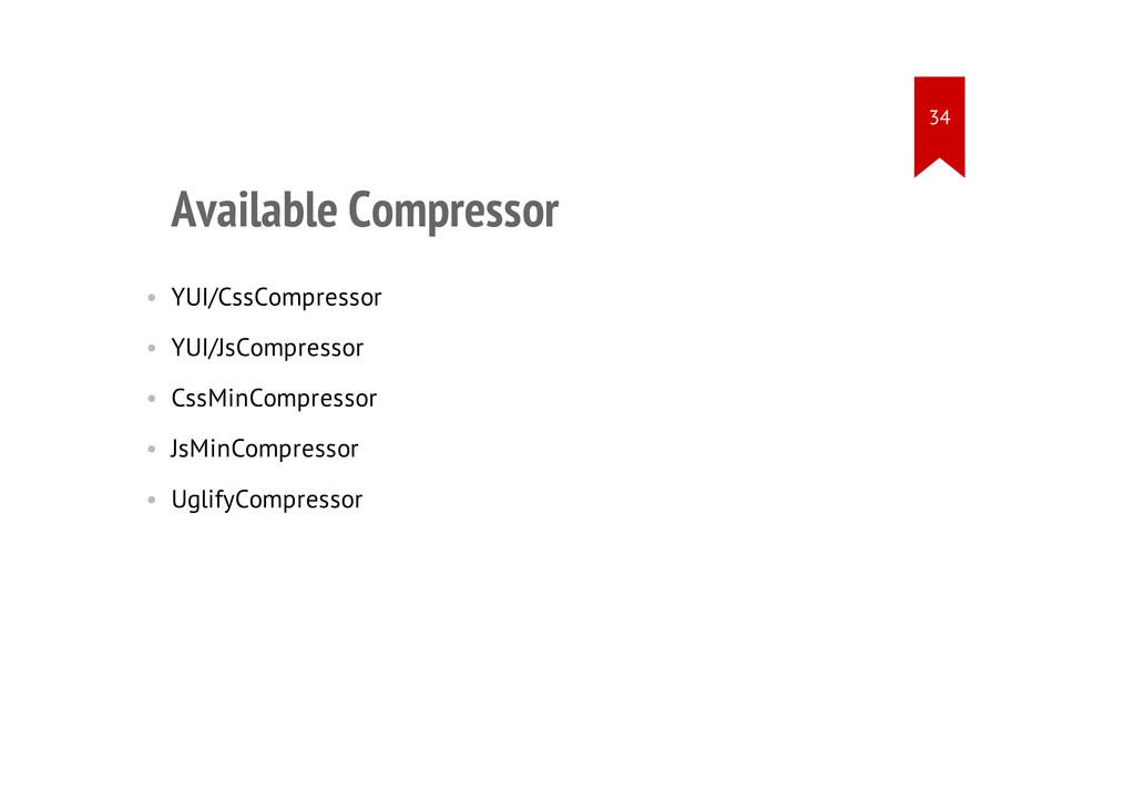 Available Compressor • YUI/CssCompressor • YUI/...