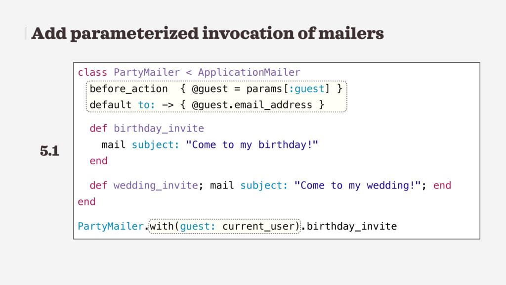 Add parameterized invocation of mailers class P...
