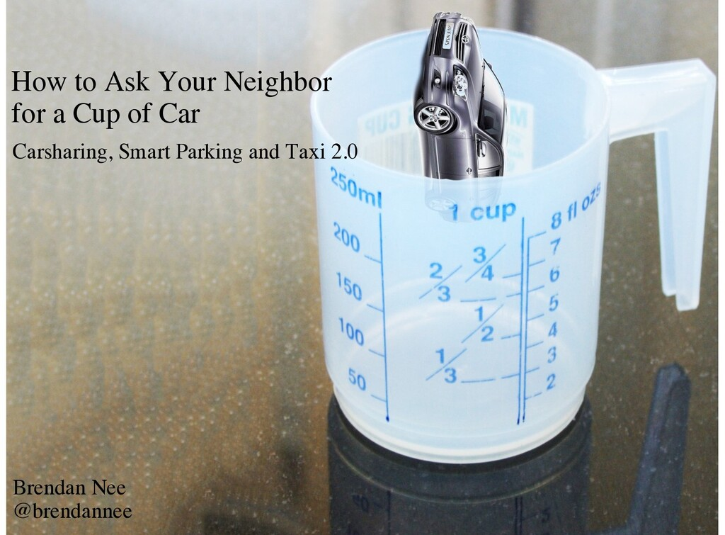 How to Ask Your Neighbor for a Cup of Car Carsh...